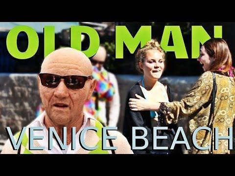 Old Man Pranks Venice Beach! video