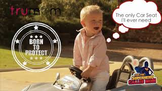 Trumom USA Convertible Baby Car Seat 0-25 kgs, Group 0/1/2, age 0-7 years