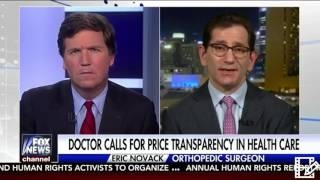 Tucker Carlson Interviews Doctor who says PRice Transparency is the only way to fix Health