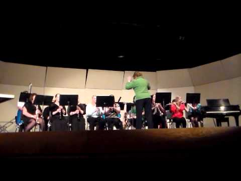 Manistee High School Woodwind Ensemble Irish Tune From County Derry - Percy Grainger