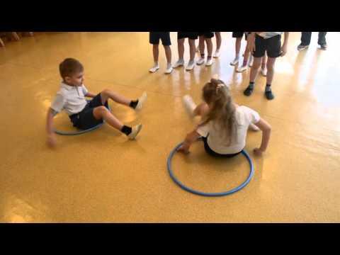 Спортивное развлечение в детском саду