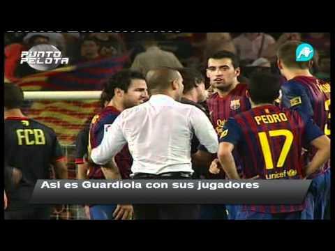 El blindaje de Pep Guardiola, las imágenes no vistas en la Supercopa