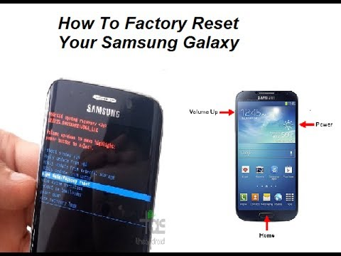 How To Factory Reset & Data Wipe Your Samsung Galaxy