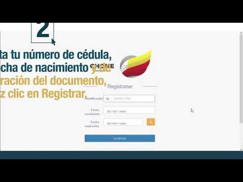 Portal en línea - Registrarse