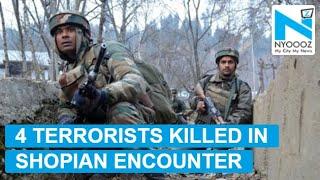 Shopian encounter: Last Hizbul commander killed