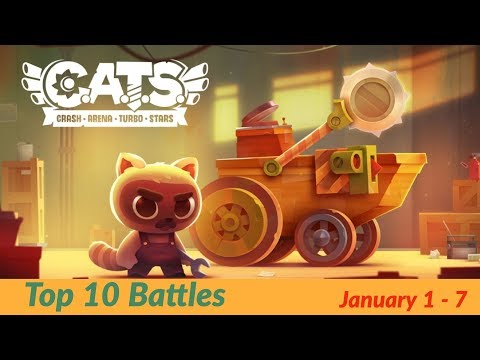 C.A.T.S. Top 10 Battles of the Week, Jan 1 - 7