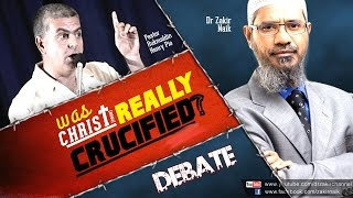 DEBATE: Was Christ (pbuh) Really Crucified? – Part-1/2 – Dr Zakir Naik vs Pastor Ruknuddin Pio