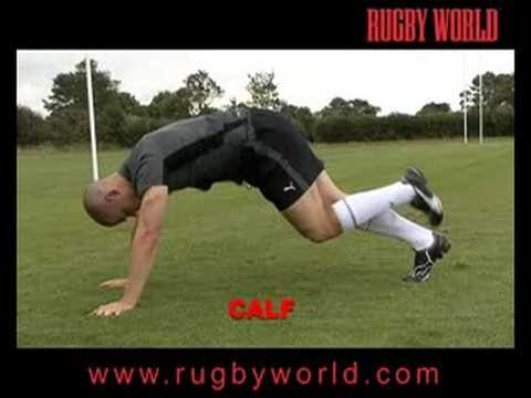 www.rugbyworld.com Cool Down for Rugby