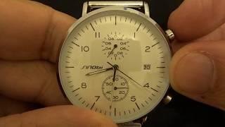 Sinobi Watch ref.11S9710G bauhaus style