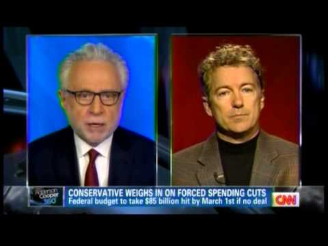 Sen. Paul on CNN's Anderson Cooper 360- 2/19/13