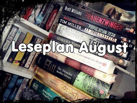 [Want to read] Leseplan August︱ SuB Abbau︱viel Lesezeit︱15 Bücher︱Bookaholic