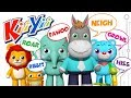 Animal Sounds Song | Nursery Rhymes | By KiiYii!