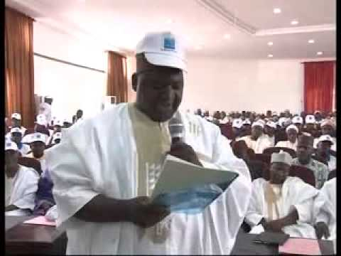 The Chief Servant of Niger State on inspection of areas affected by riots in Minna