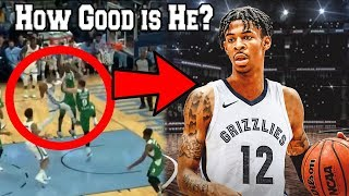 What we Learned from Ja Morant Memphis Grizzlies NBA Preseason Debut (Feat. Highlights Dunk Workout)