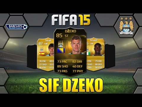 FIFA 15 SIF DZEKO REVIEW | ST 85 | MANCHESTER CITY
