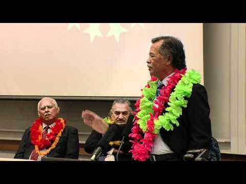 Henry Puna Cook Islands PM.wmv