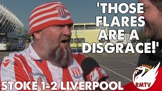 [ANGRY RANT] Stoke v Liverpool 1-2 | Those Flares Changed The Game! | #LFC Fan Cam