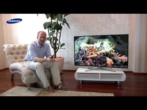 Samsung 3D LED TV - 01 Lieferumfang und Aufbau