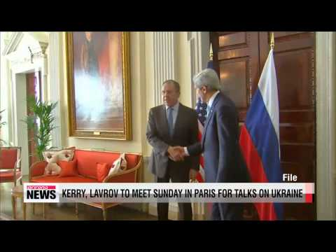 Kerry, Lavrov to hold talks on Crimea in Paris Sunday