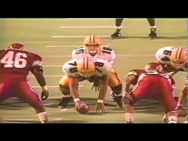 Oregon RB Donovan Moore 27 yard run vs. Utah 9-21-1991