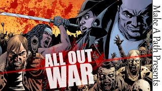 THE WALKING DEAD ALL OUT WAR VARIANTS