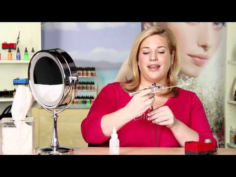 Getting Started With Your New Dinair Airbrush Makeup Kit