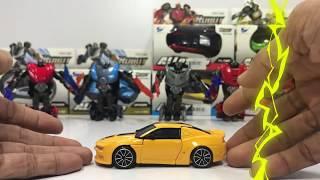 Xe biến thành rô bốt - Bộ đồ chơi xe ô tô biến thành Robot (Xe cho bé)