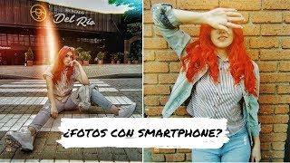 Sesión de fotos en medellín con smartphone