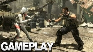 Dead or Alive 5 - Christie vs Bayman Gameplay