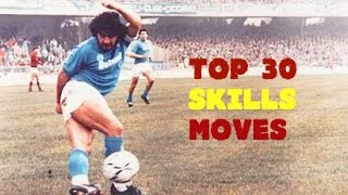 Diego Maradona ● TOP 30 Crazy Skills Moves Ever