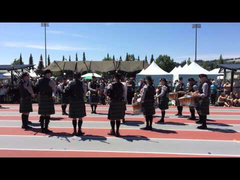 Crescent Beach Pipe Band (Medley) BC Highland Games 2014
