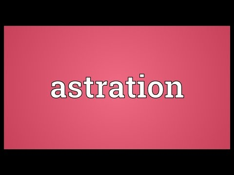 Header of Astration