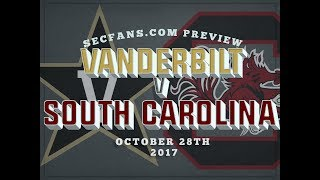 South Carolina vs Vanderbilt - Preview & Predictions - College Football 2017 - USC Vandy