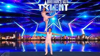 Britain's Got Talent 2017 Goa Lin & Liu Xin Classical Dance with a Twist Full Audition S11E02