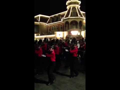 Maryville high school band at Disney world
