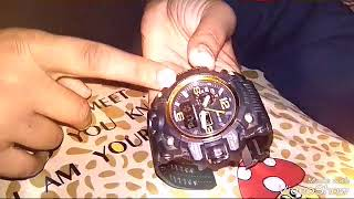How to set time/date/week/month/24 h hour format andUnboxing of skmei  watch 1155 and its advantage