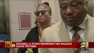Quanell X No Longer Representing Maleah Davis' Mother