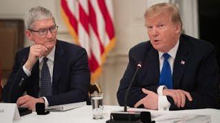 President Trump calls Apple CEO Cook 'Tim Apple'