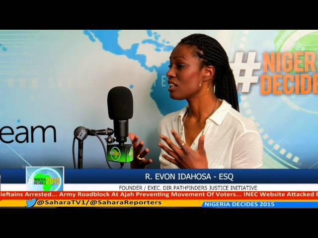 #NIGERIA DECIDES 2015 PANEL 15