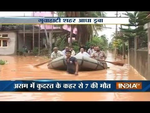 Floods leaves 9 people dead in Assam