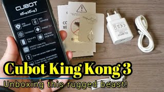 Cubot King Kong 3 - Unboxing and first impressions of this rugged beast!