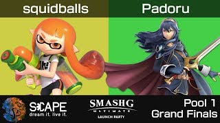 Ultimate Launch Party - squidballs (Inkling) vs. Padoru (Lucina) [Pool 1 Grand Finals]