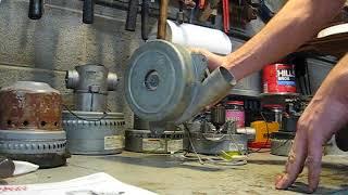 Ametek Lamb Vac Blower Motor With SCR Thyristor Speed Control