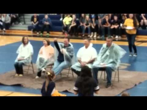 Teachers get pied at North Muskegon High School