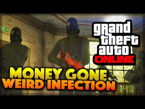 GTA 5 Online - MONEY GONE & Weird Infection Mod (GTA 5 Gameplay)