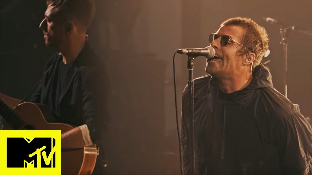 "Liam Gallagher - 「MTV Unplugged」""Wall of Glass""など6曲、27分のライブ映像を公開 thm Music info Clip"