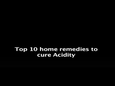 Top 10 home remedies to cure Acidity.