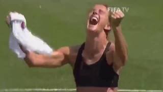Brandi Chastain Historic World Cup Kick