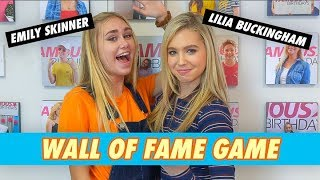 Emily Skinner vs. Lilia Buckingham - Wall of Fame Game