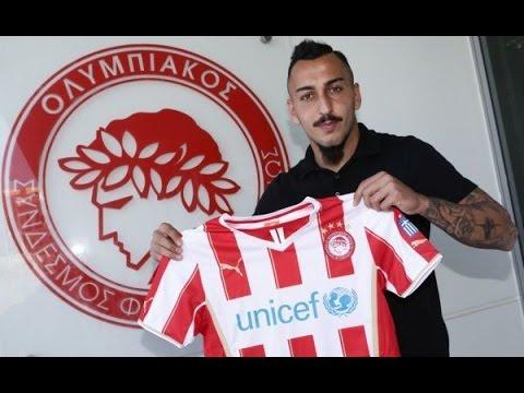 Ο «πιστολέρο» επέστρεψε στον Θρύλο! / Kostas`Mitroglou returns to Olympiacos